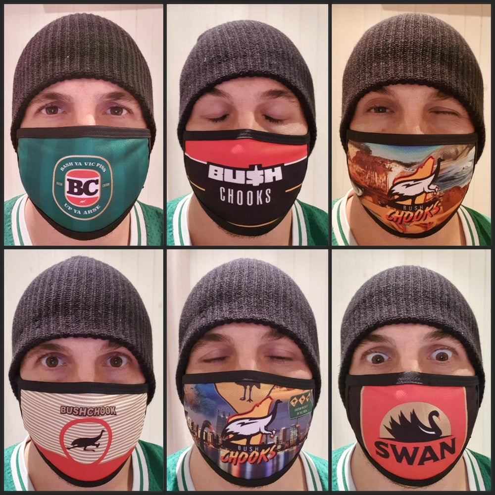 Image of Bushchook Face Masks (6 designs to choose from)