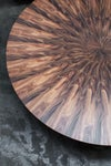 SUNBURST COFEEE TABLE IN BLACKWOOD