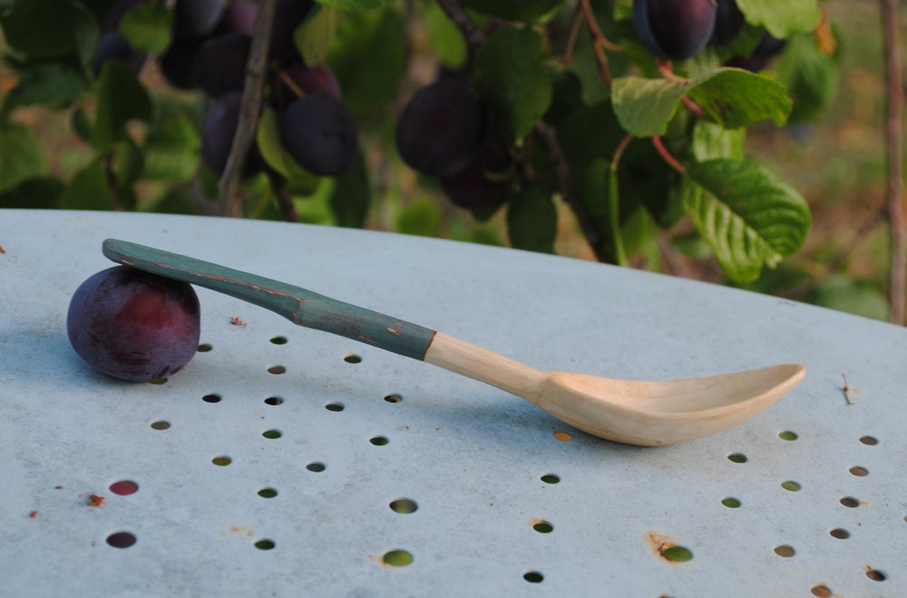 Image of Sycamore spoon I - cuillère en sycomore I