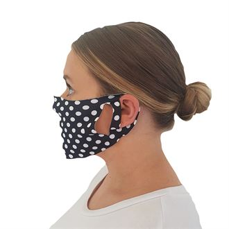 Polka Dot Face cover