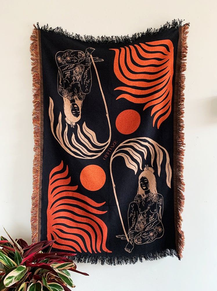 Image of Desert Sun Woven Throw