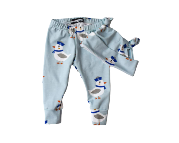 Image of Sailor Seagull Hat and Leggings Gift set