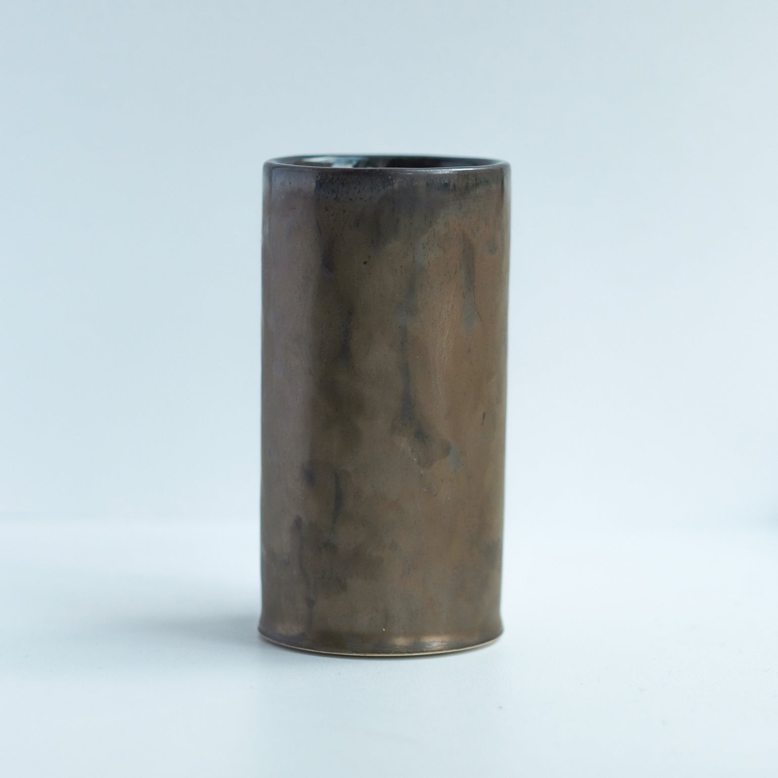 Image of MINI CYLINDER IN BRONZE GLAZE