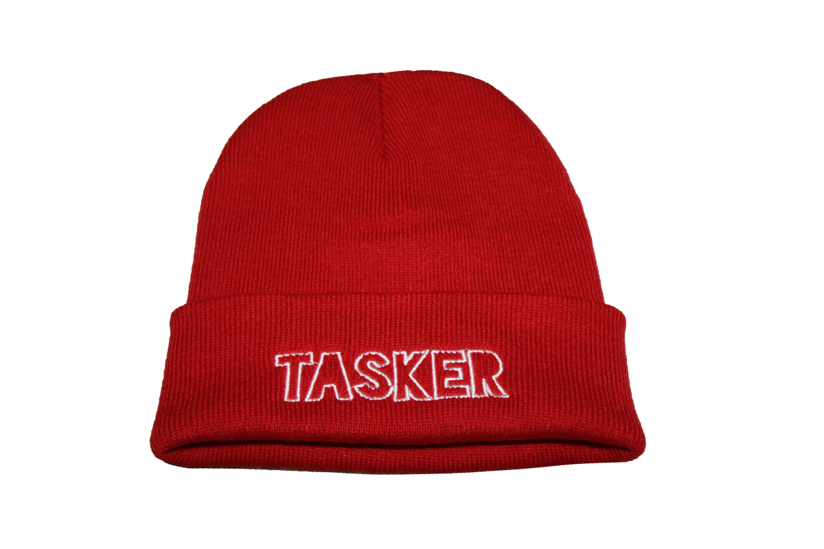 Image of Red 'Tasker' Beanie