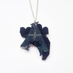 Image of Small Black Zero Waste Necklace