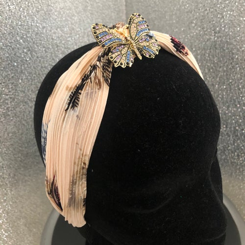 Image of Apricot Butterfly Headband