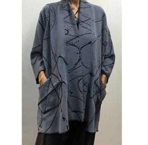 Image of Tencel Jacket - Hand Painted - Alison Style