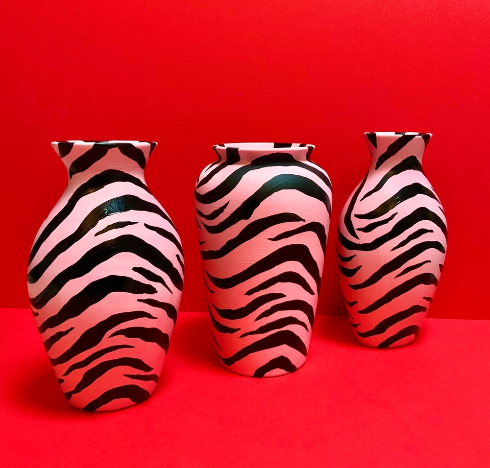 Image of TIGER STRIPE VASE