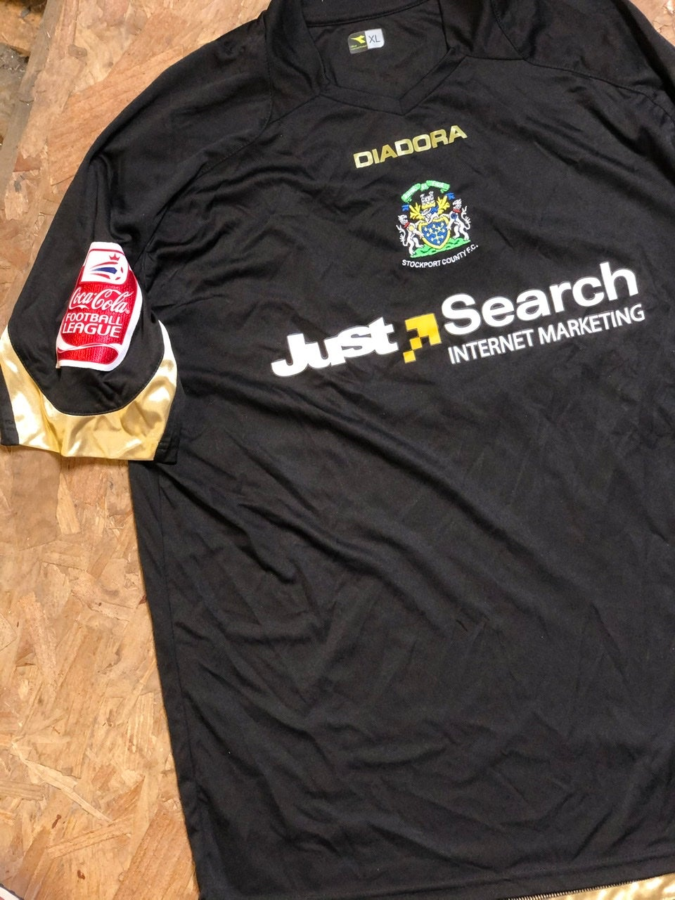Match Issue 2008/09 Diadora Away Shirt