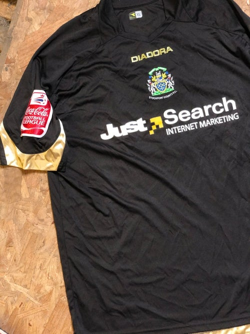 Image of Match Issue 2008/09 Diadora Away Shirt