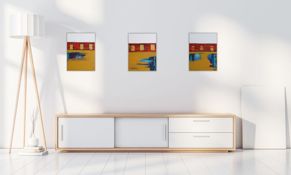 Image of Triptych Set (3 total paintings)