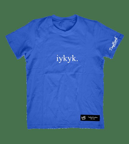 """Image of TrapNerd """"iykyk."""" Tees"""