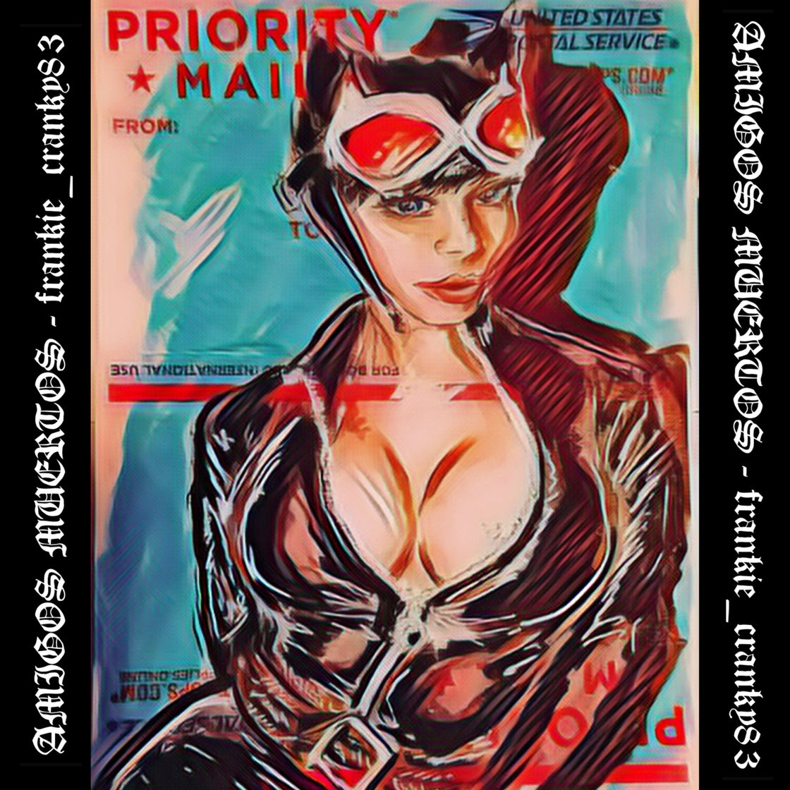 Image of Catwoman pinup Hologram