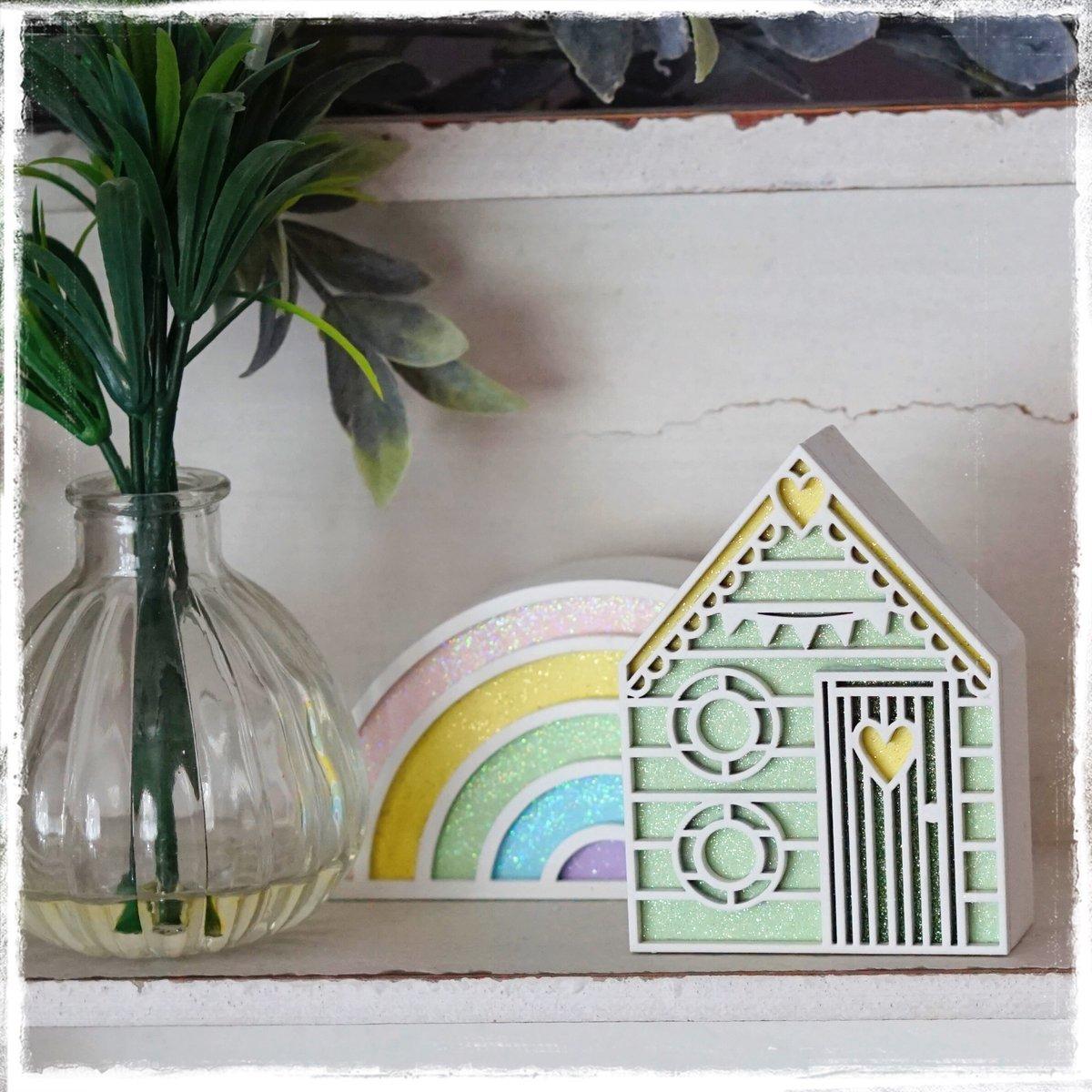 Image of Pastel Rainbow - Freestanding