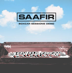 "Image of SAAFIR ""BOXCAR SESSIONS DEMO"" LP (PRE-ORDER)"