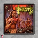 Gruesome Savage Land Printed patch