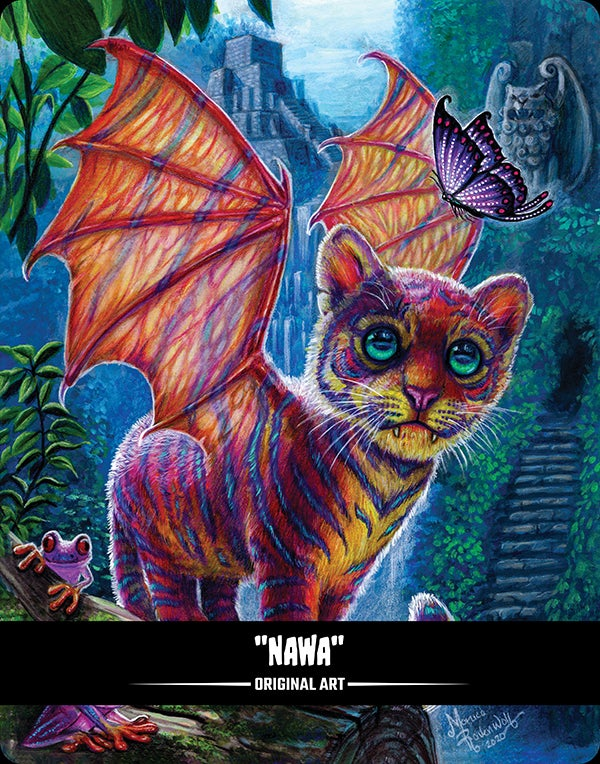 NAWA (BITTENS) - ORIGINAL ART (FRAMED)
