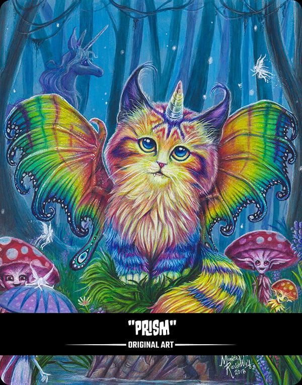 PRISM (BITTENS) - ORIGINAL ART (FRAMED)