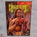 Gruesome Savage Land printed backpatch