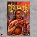 Gruesome Savage Land textile poster flag