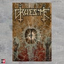 Gruesome Fragments Of Psyche textile poster flag