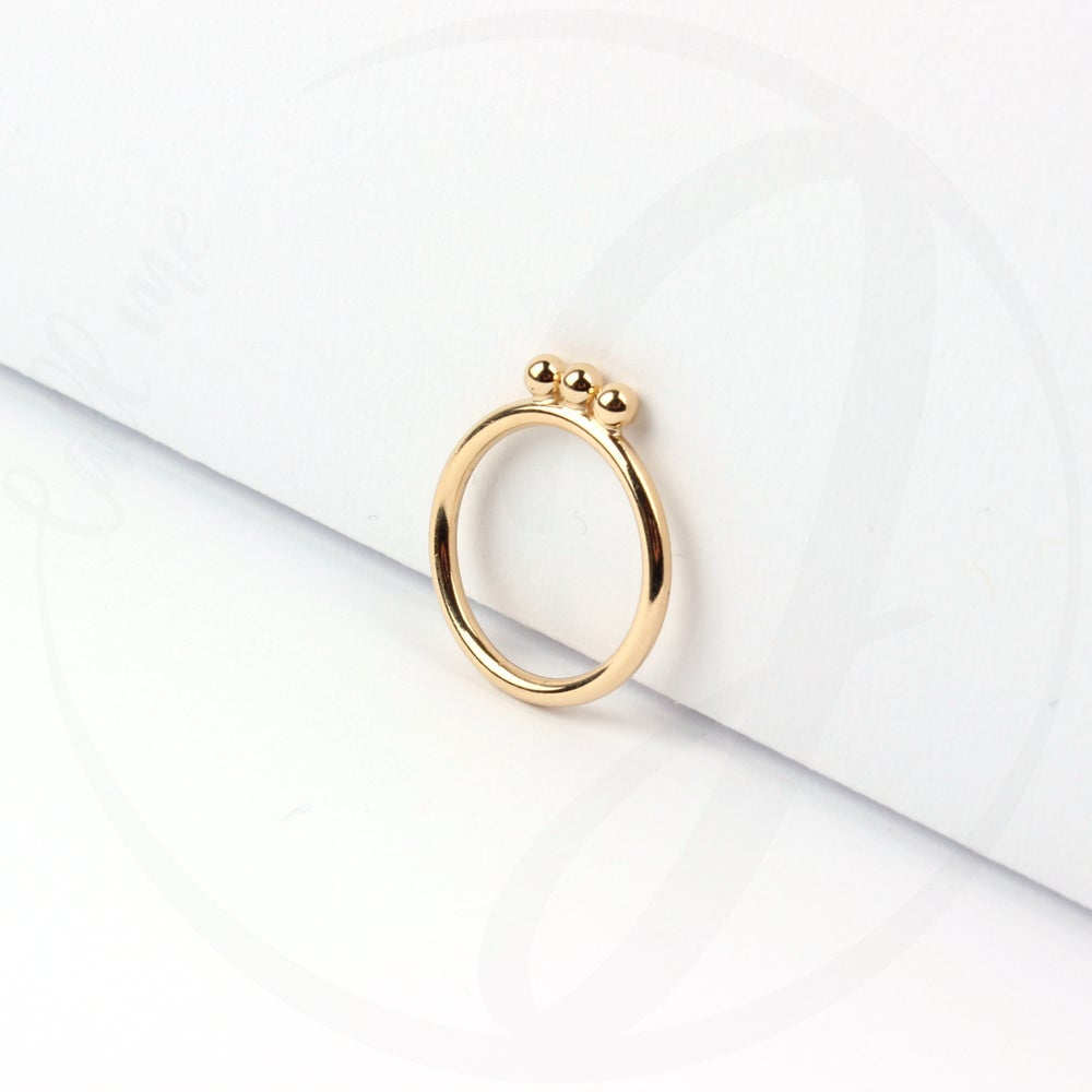 Image of Mondring / glanz / Gold