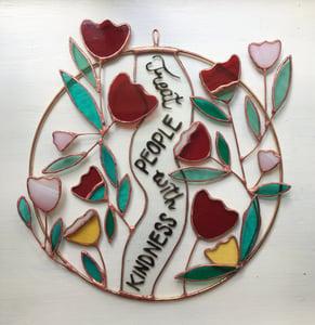 Image of Treat People with Kindness Wreath - ABJ x BreathLiveExplore