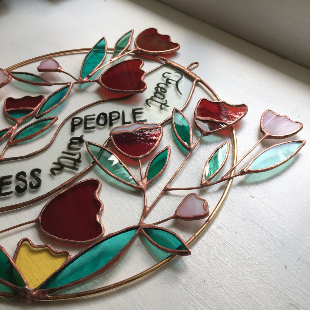Image of Treat People with Kindness Wreath - ABJ x BreathLiveExplore