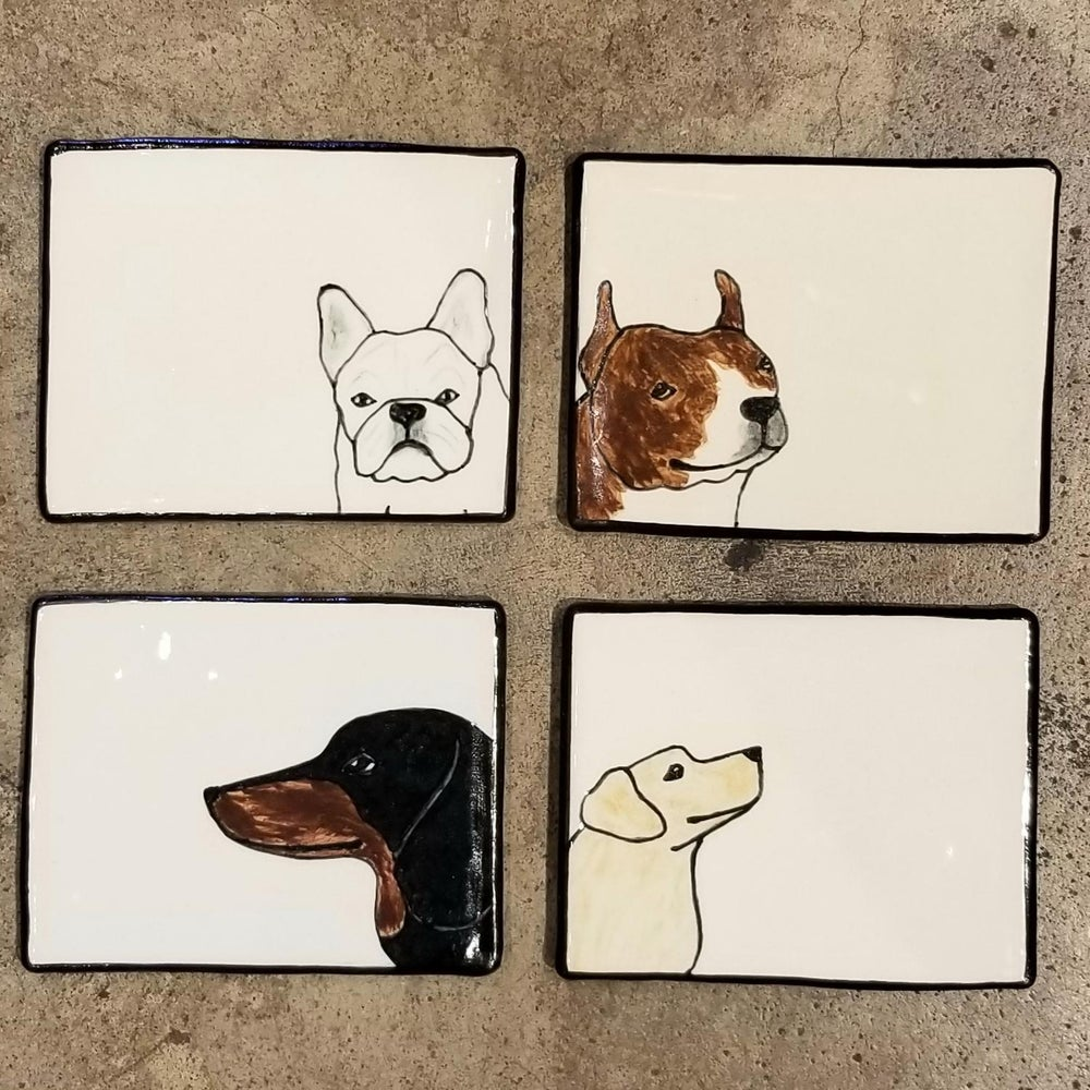 Image of Ceramic Dog Trays