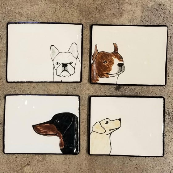 Image of Ceramic Dog Trays (Sold separately)