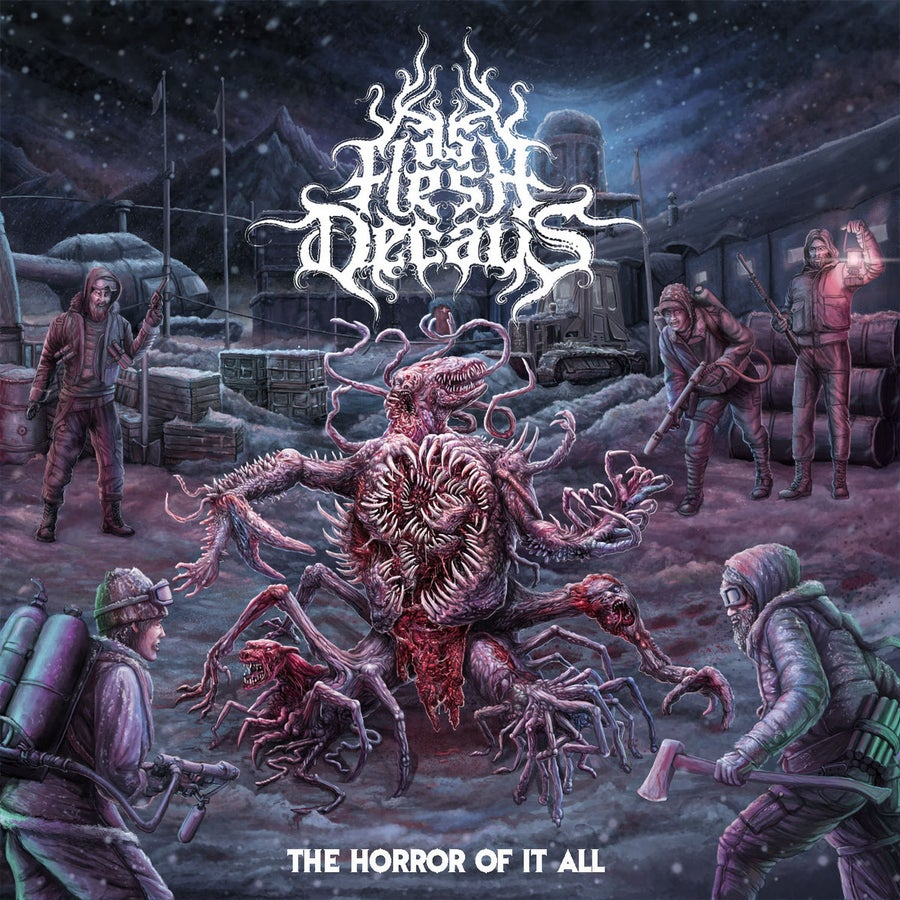 Image of As Flesh Decays - The Horror Of It All / Sinister (Reissue) CD