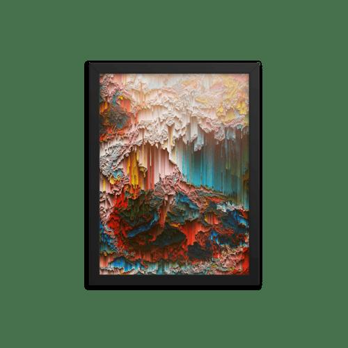 Image of Rainbow Gravity Framed Print