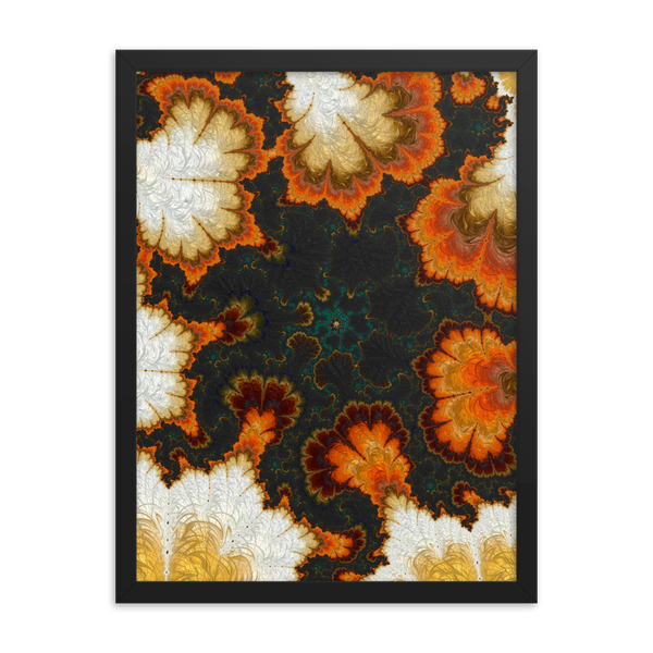 Image of Pumpkin Patch Framed Print