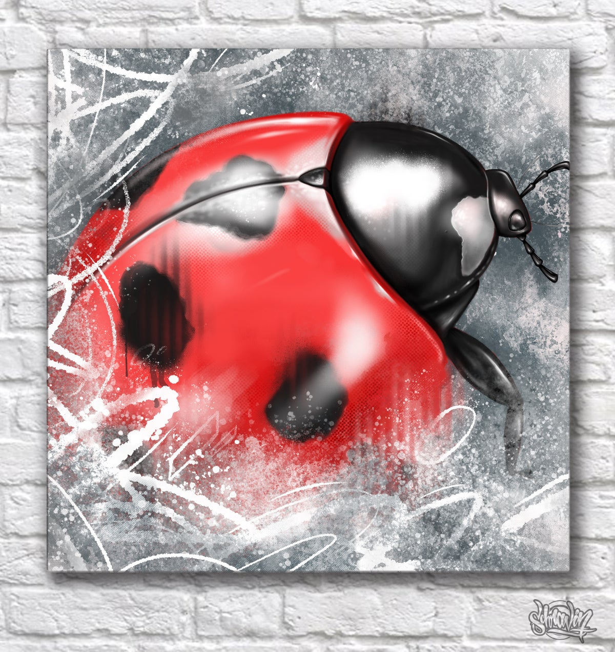 Image of Lady Bug canvas print