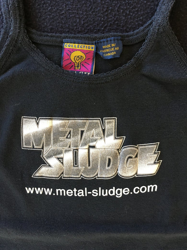 Image of Metal Sludge classic style Baby Doll (Small)