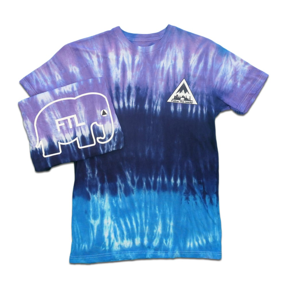 Image of NYC Scape Tee (Tie Dye)