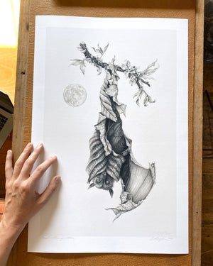Image of Good Morning Moon Print