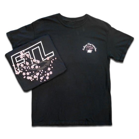 Image of Cherry Blossom Tee (Black)