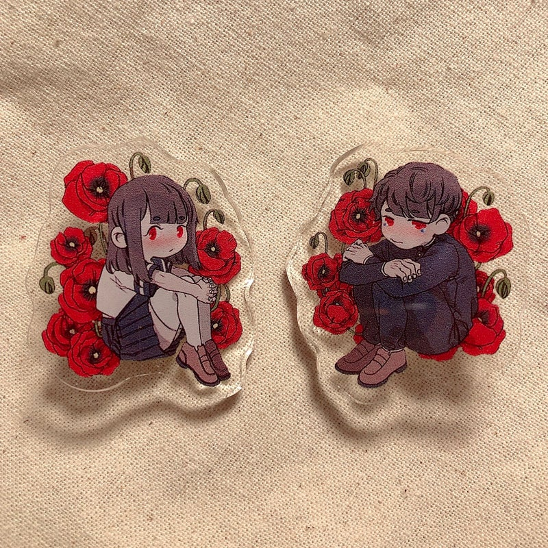 Image of POPPY Pins
