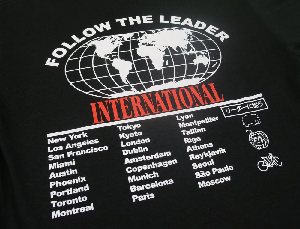 Image of Worldwide Tee (Black)