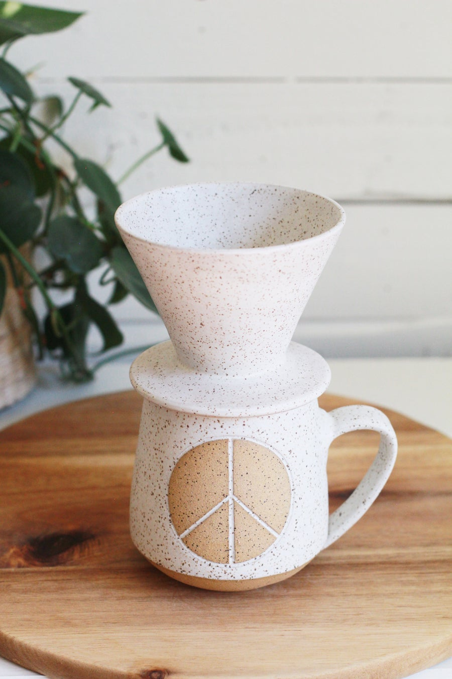 Image of Peace Pour-Over Set