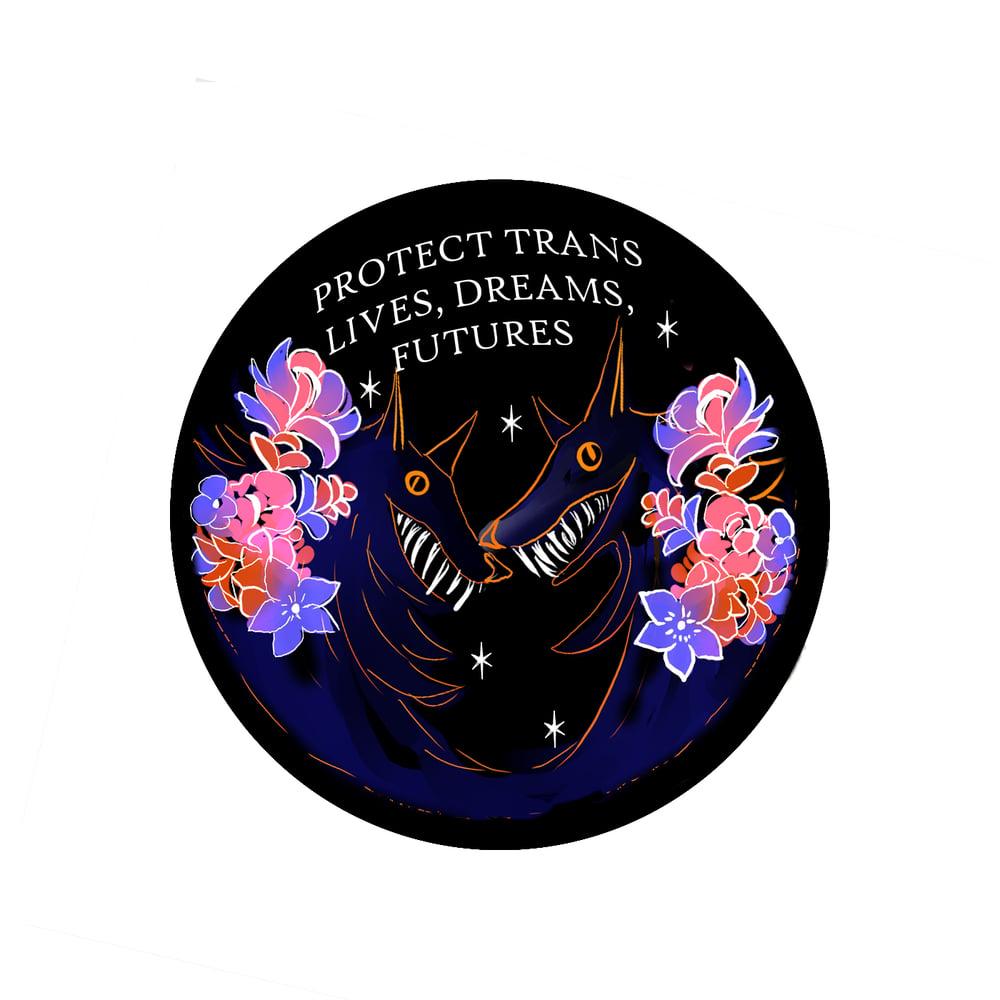 Image of TRANS DREAMS PATCH **PREORDER**