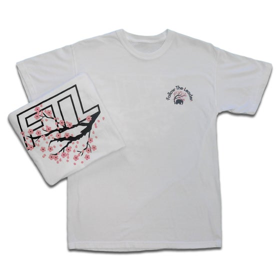 Image of Cherry Blossom Tee (White)
