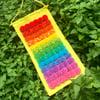 Fluffy Rainbow Wall Hangings