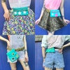 Turquoise Belt Bags