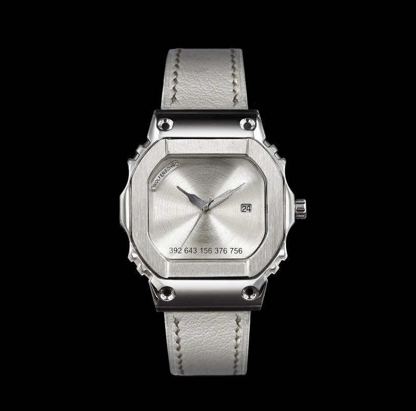 Image of SWISS SHOCK - SILVER (Ref: 56002824AG)