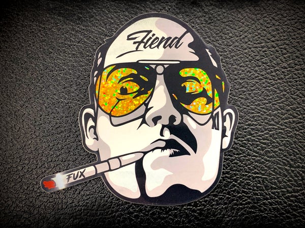 Image of Workshop 432 Fiend Glitter Sticker