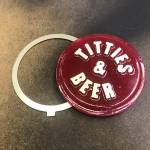 Image of VintageChop Miller Style Titties and Beer Tail Light LENSE AND RETAINER ONLY
