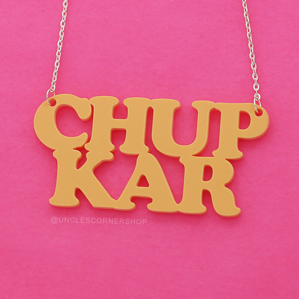 Image of CHUP KAR - statement necklace