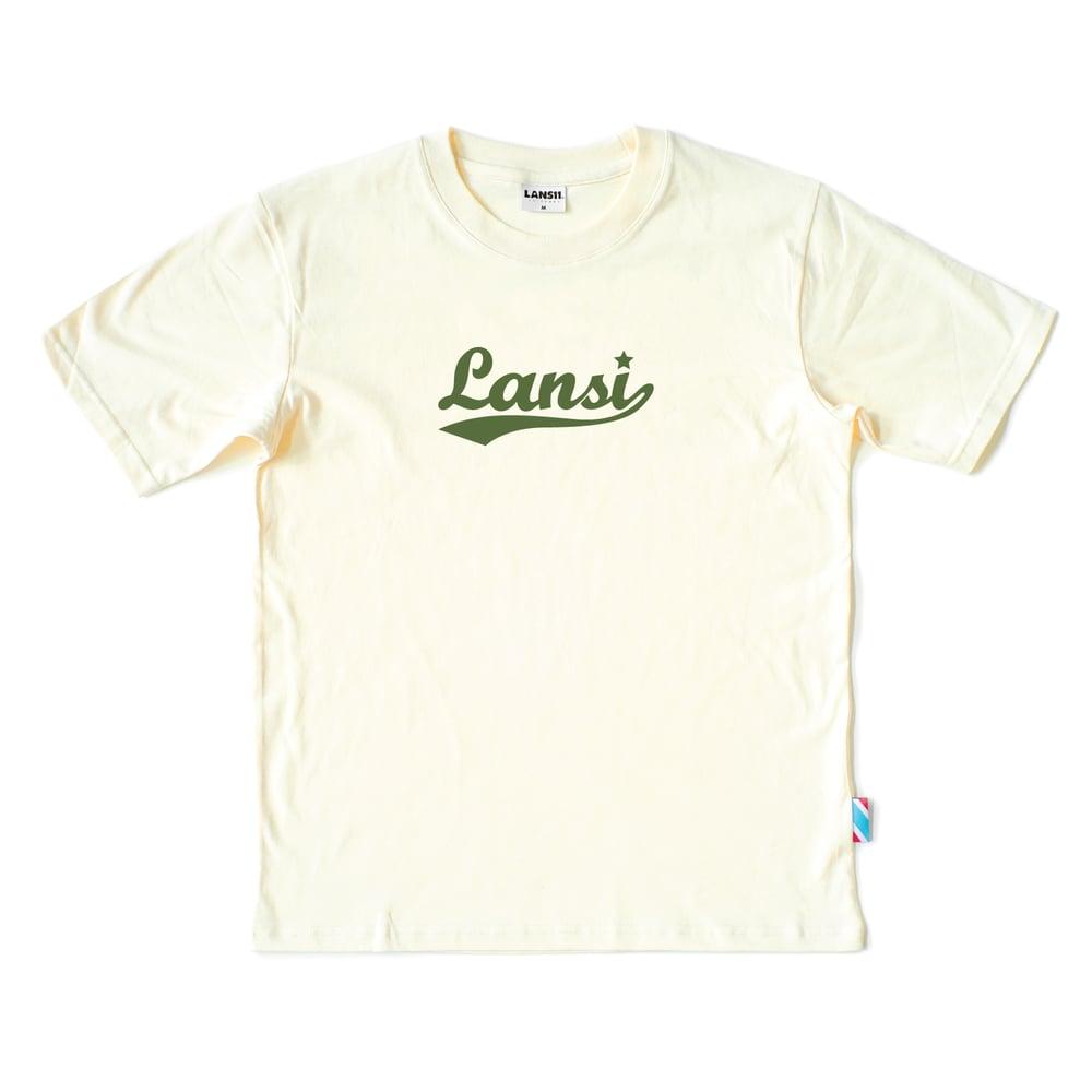 """Image of LANSI """"11 Years"""" T-shirt (Cream)"""